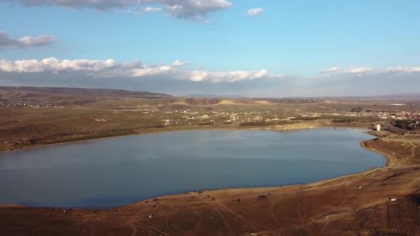 Water Reservoir Aerial