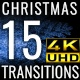 Christmas 4K Transitions - VideoHive Item for Sale