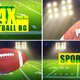 Football Background Pack - VideoHive Item for Sale