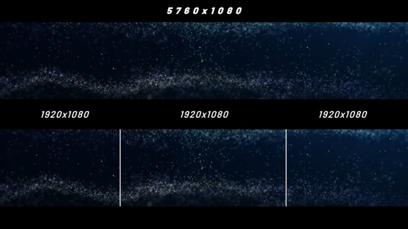 Abstract Particles Background Widescreen