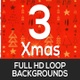 Xmas Moving Elements Backgrounds - VideoHive Item for Sale