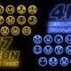 17 Neon Emoji Pack 4K - VideoHive Item for Sale