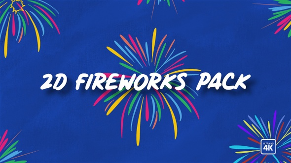 2D Fireworks Pack
