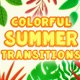 Colorful Summer Transitions - VideoHive Item for Sale