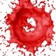 Circle Red Color Splash 4K - VideoHive Item for Sale
