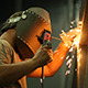Worker Welding - VideoHive Item for Sale