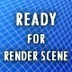 Ready for render scene - 3DOcean Item for Sale