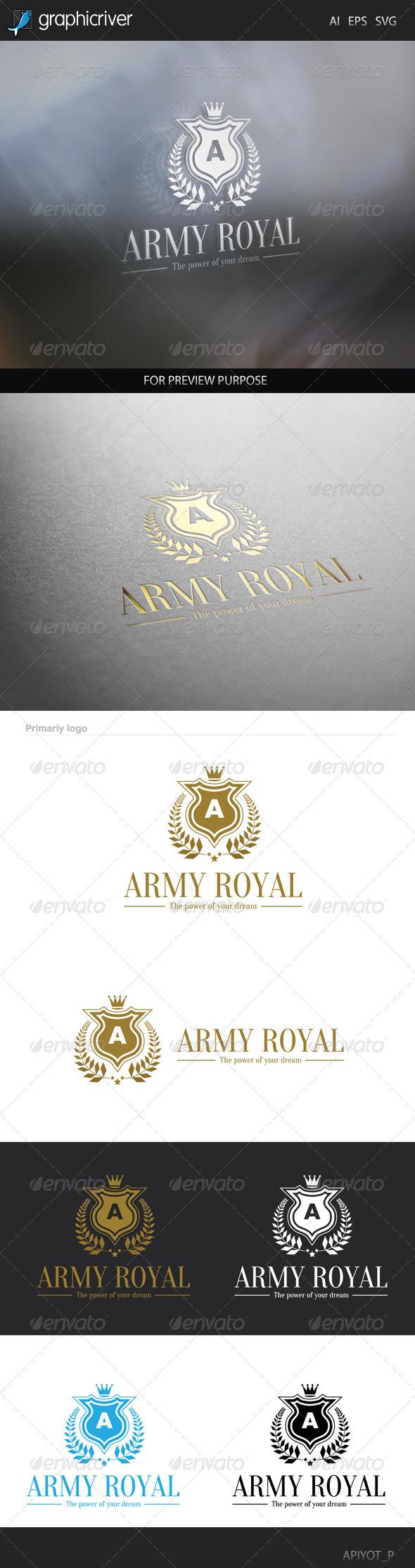 Army Royal Logo