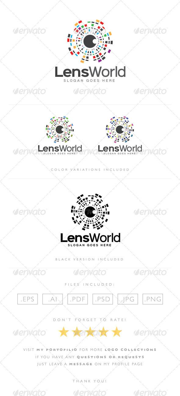 Lens World Logo