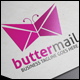 Butter Mail Logo - GraphicRiver Item for Sale