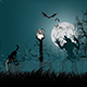 Halloween Night Background / Vector / JPG - GraphicRiver Item for Sale