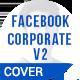Facebook Corporate Header Cover V.2 - GraphicRiver Item for Sale