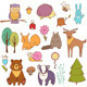 Forest Animals Set - GraphicRiver Item for Sale