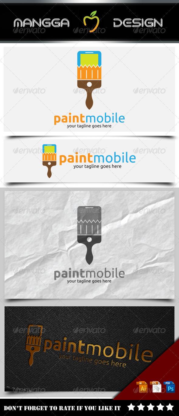 Paint Mobile Logo
