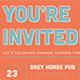 Retro Type Invitation Postcard - GraphicRiver Item for Sale