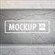 10 Horizontal Wall Niche Mockups Set - GraphicRiver Item for Sale