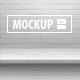 12 One-Piece Shelf Mockups Set - GraphicRiver Item for Sale