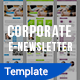Corporate Email Newsletter Template - GraphicRiver Item for Sale
