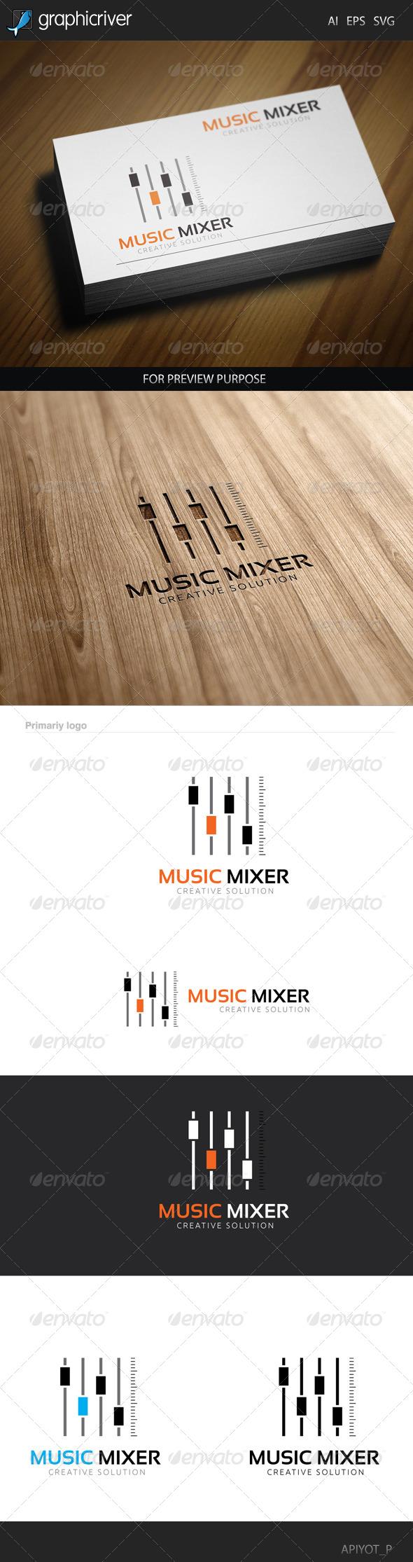 Music Mixer Logo