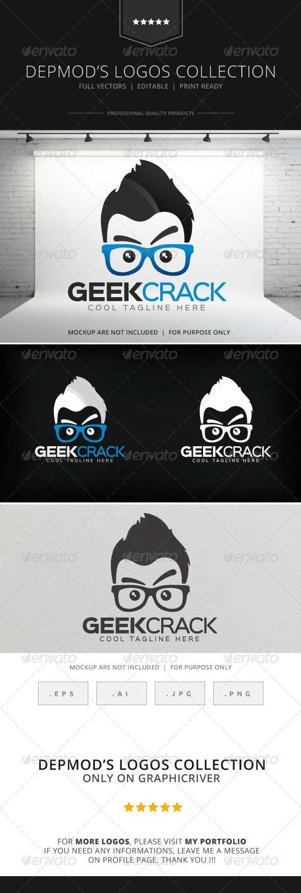 Geek Crack Logo