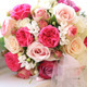 Beautiful Wedding Bouquet on the Window Sill - VideoHive Item for Sale