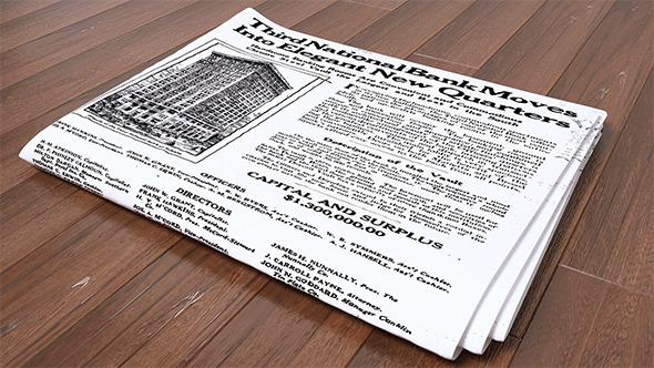 Newspaper CG Textures & 3D Models from 3DOcean