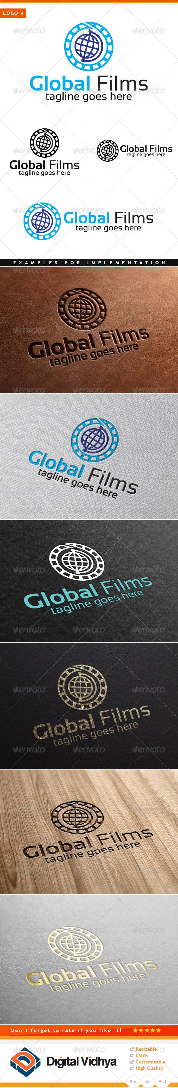Globe & Films Logo