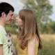 Girl Flirting With a Guy - VideoHive Item for Sale