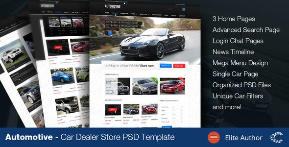 Automotive - Car Dealer 4