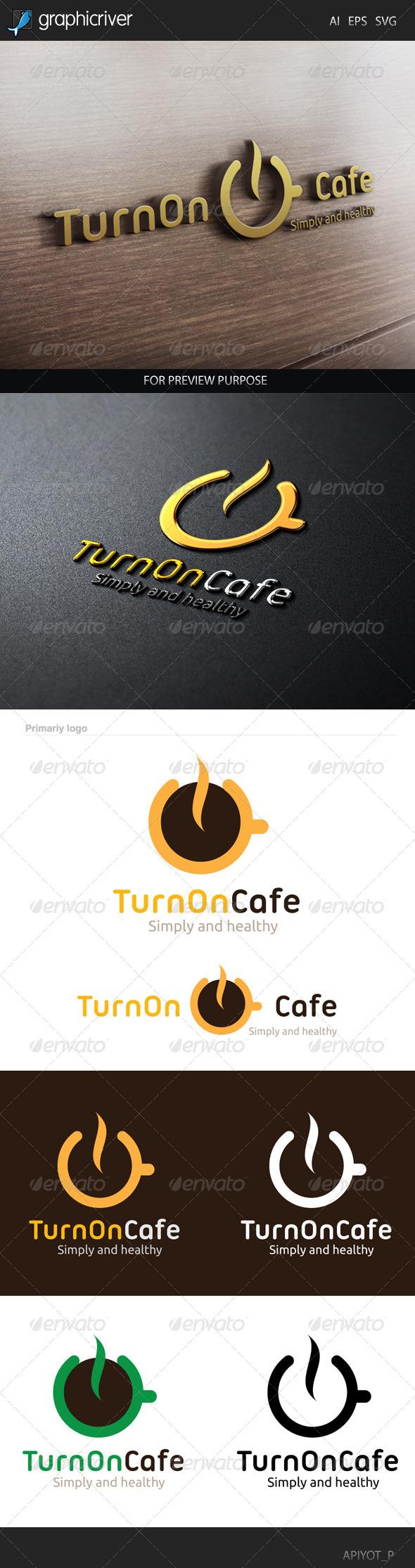 Turn on Cafe Logo