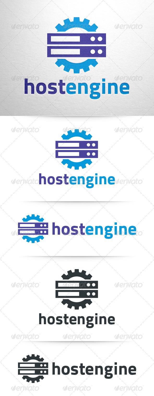 Host Engine Logo Template