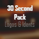 30 Second Ident Pack