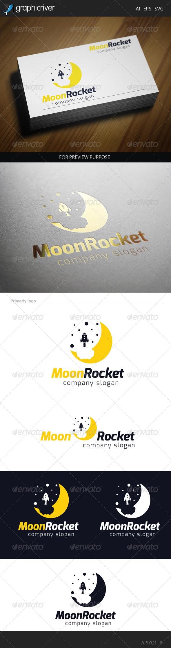 Moon Rocket 2 Logo