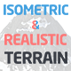 Isometric and Realistic Terrains - GraphicRiver Item for Sale