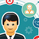 Business People Organization - GraphicRiver Item for Sale