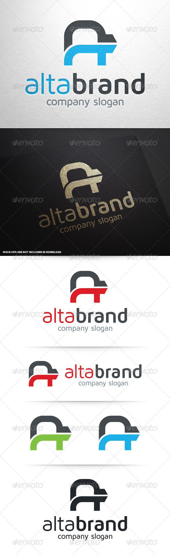 Alta Brand - Letter A Logo