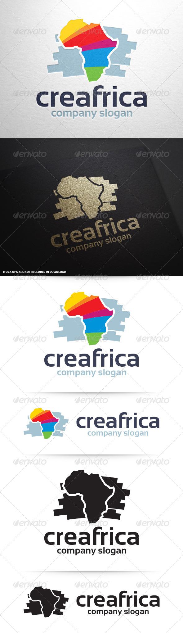 Creative Africa Logo Template