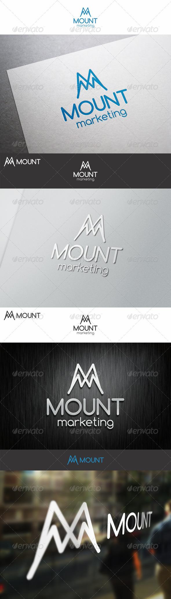 Mount Marketing M Logo Letter