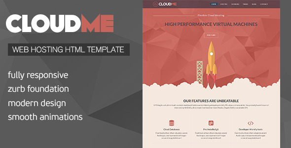 Foundation 6 Website Templates from ThemeForest
