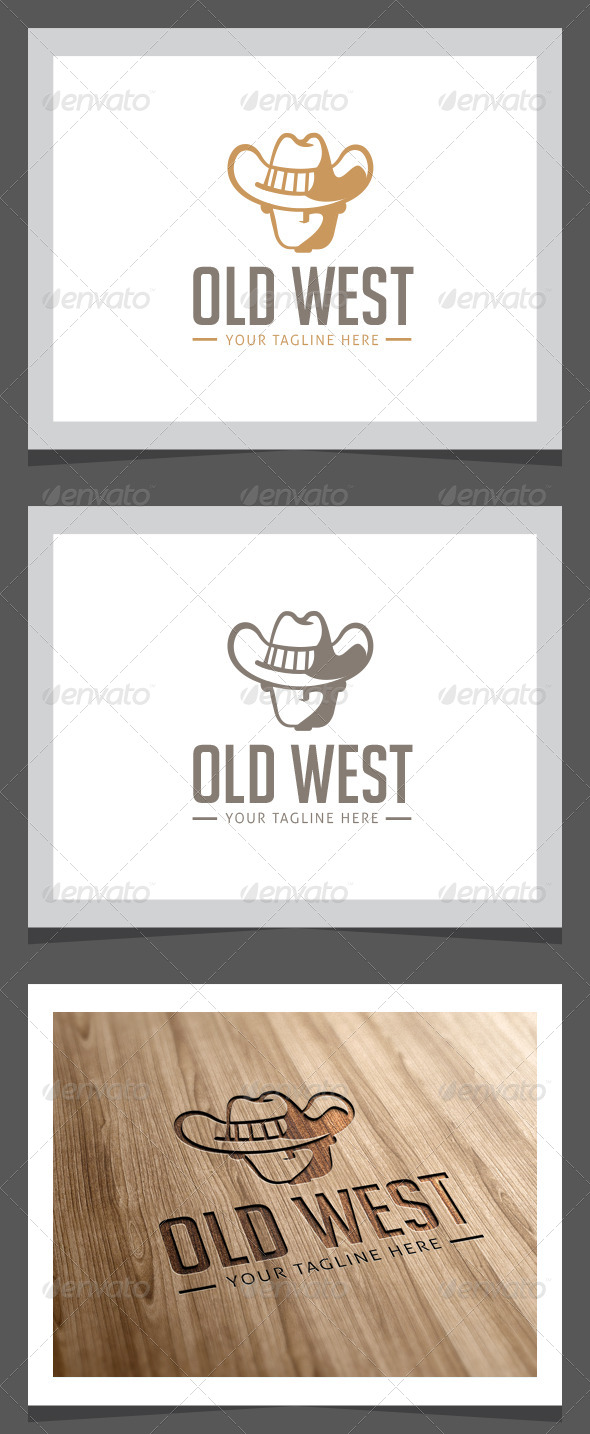 Old West Logo Template