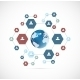 Network Concept with Hexagons - GraphicRiver Item for Sale