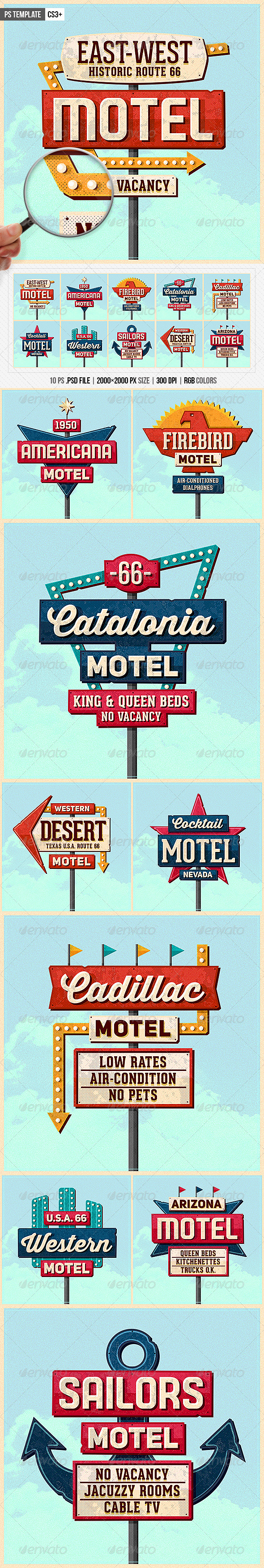 50S Graphics, Designs & Templates from GraphicRiver