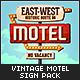 Vintage Motel Sign Pack - GraphicRiver Item for Sale