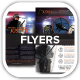 Police Enforcer Protect and Serve Flyers - GraphicRiver Item for Sale