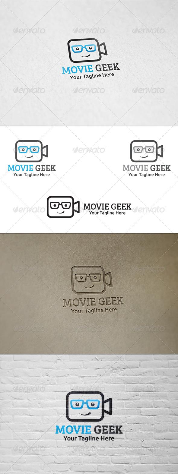 Movie Geek - Logo Template