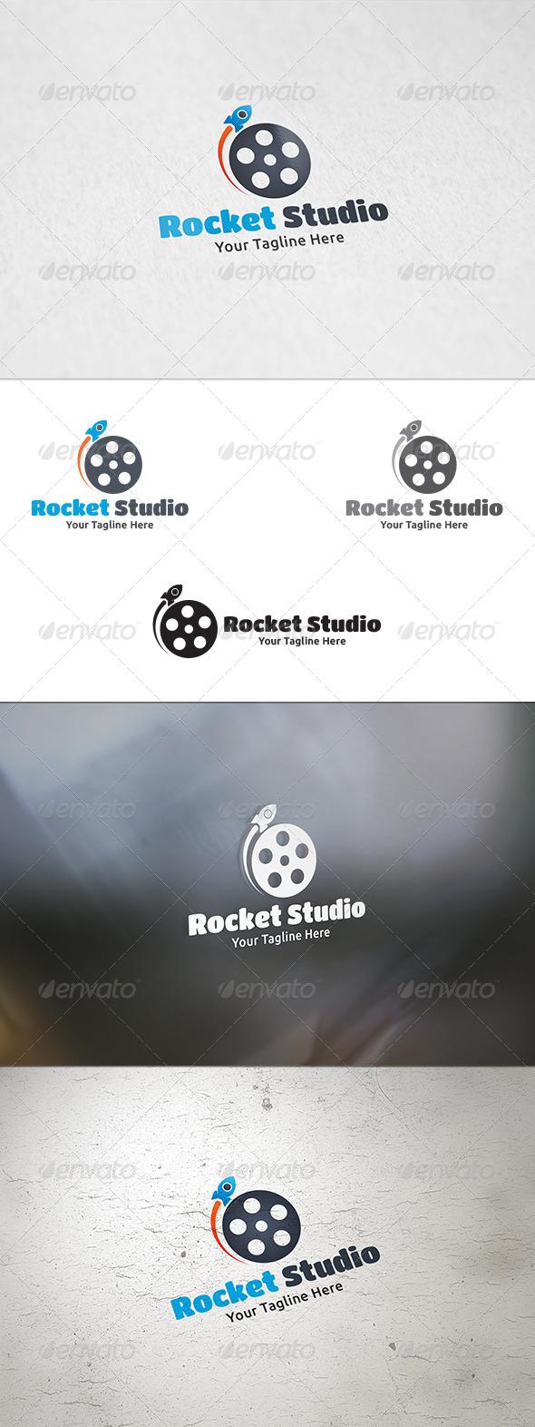 Rocket Studio - Logo Template