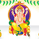 Abstract Ganesh Chaturthi Background - GraphicRiver Item for Sale