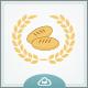 Bread & Wheat Logo Template - GraphicRiver Item for Sale