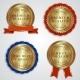 Golden Labels - GraphicRiver Item for Sale
