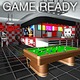 Game Ready Retro Bar - Pool Room - 3DOcean Item for Sale